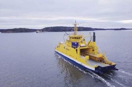 Kapal ferry otonom milik Falcon (The Engineer)